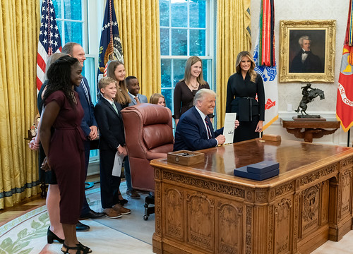President Trump Nominates Judge Amy Cone by The White House, on Flickr
