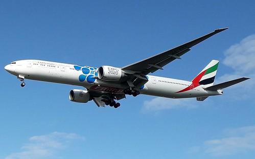EK/UAE Emirates B777 A6-EPK