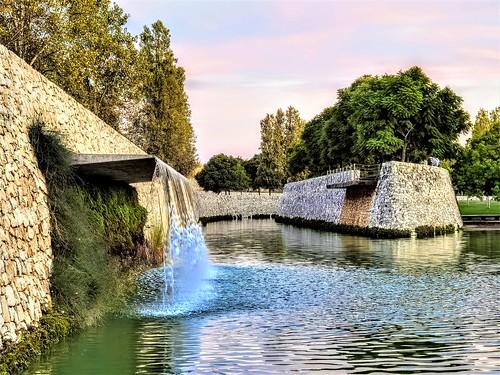 El río que se convirtió en parque: los Jardines del Turia en Valencia.