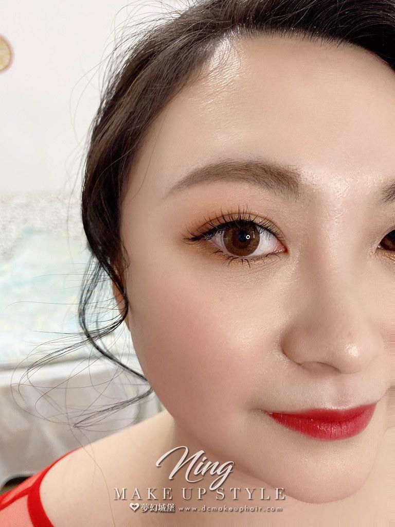 【新秘羽寧 】bride子綺 訂婚造型 / 韓系公主