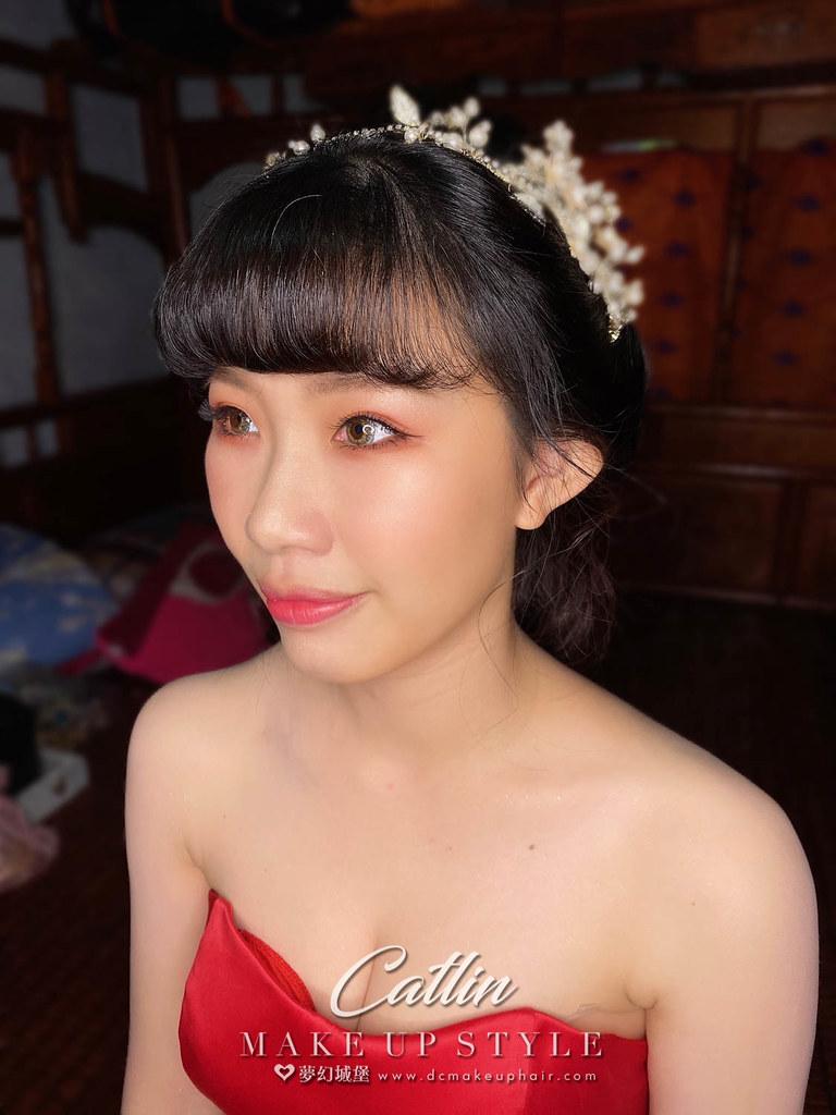 【新秘Catlin 】bride楨榕 訂結婚造型 / 華麗公主,日系甜美