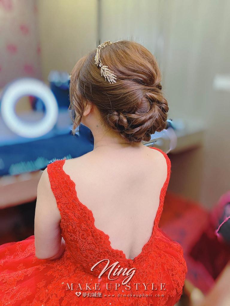 【新秘羽寧 】bride秀宜 訂婚造型 / 典雅風格