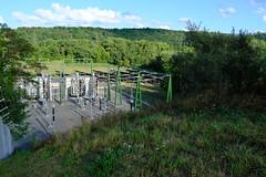 Solar panels @ Barrage de Verbois @ Teppes de Verbois @ Russin @ Geneva
