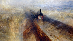 Turner, Rain, Steam, and Speed (detail)