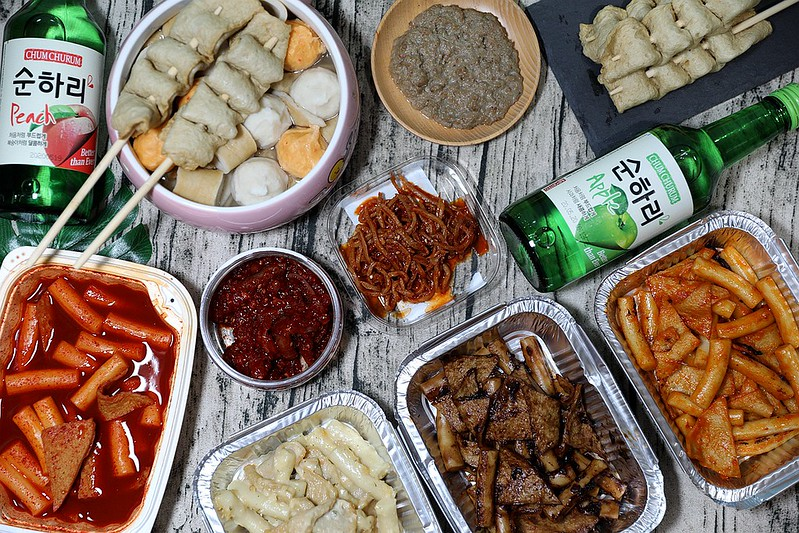 韓國紅雪蟹蟹膏辣炒年糕韓式小菜家樂福韓國週試吃開箱231