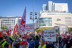 Protest der Continental-Beschäftigten