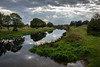 River Nene from Milton Ferry Bridge - Nene Park, Peterborough, UK