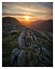 Sunset over Wasdale, The Lake District