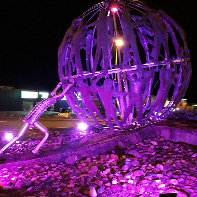 Photo 7 - Illumination Octobre rose