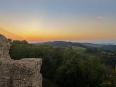 Sonnenaufgang auf der Küssaburg - explored