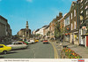 High Street, Newcastle Under Lyme old postcard late 1970s