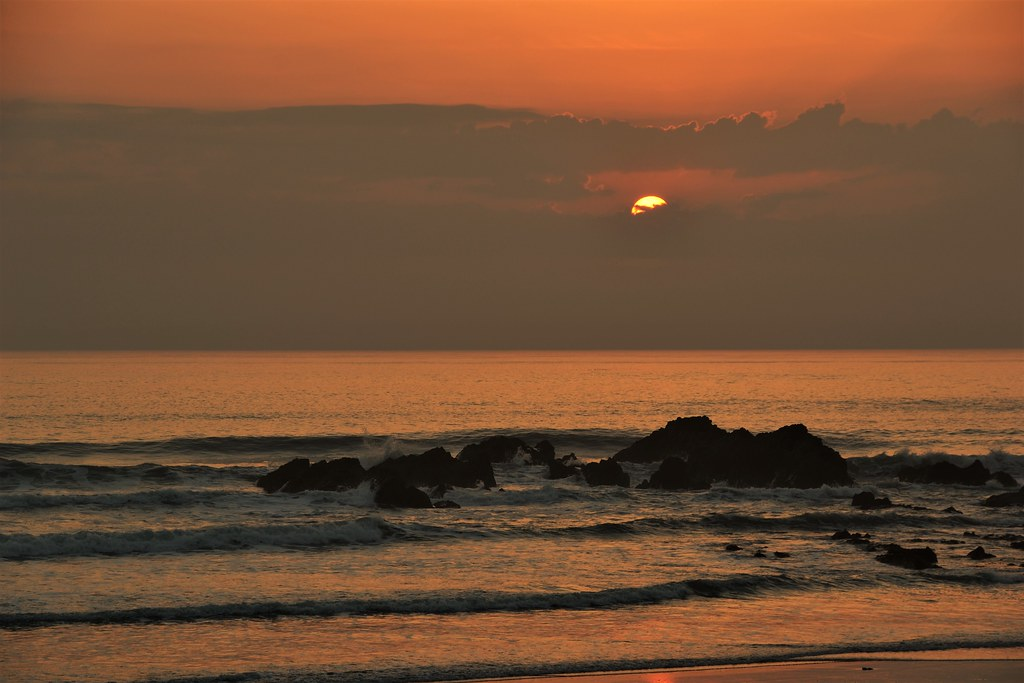Sunset Crooklets Beach, Bude.  Nikon D3100. DSC_0984. (2)