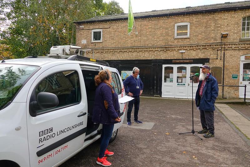 BBC Radio Lincolnshire gave us a visit.