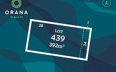 Lot 439, 375 Pattersons Road, Clyde North VIC