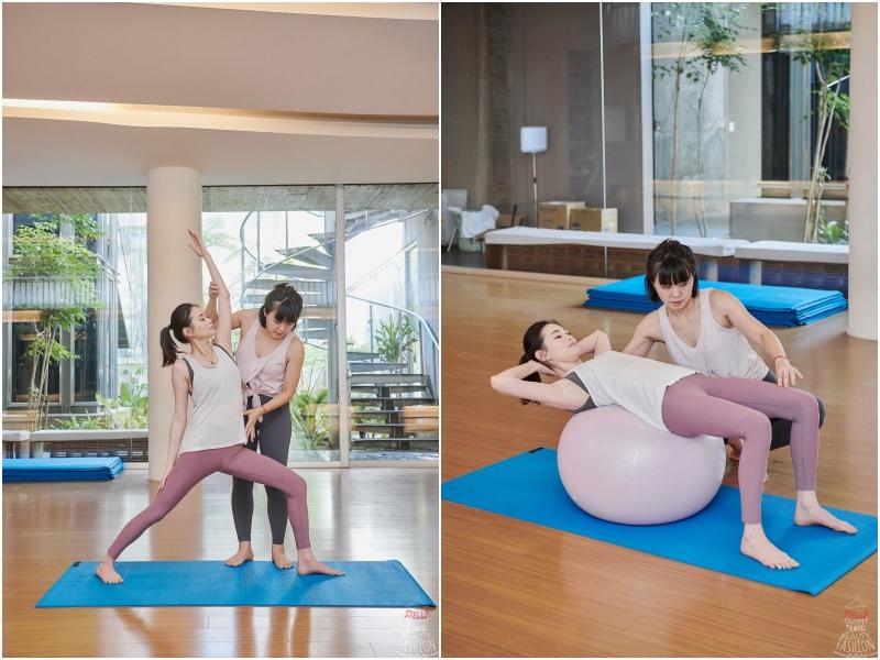 優境里寧Yogilini看似簡單的瑜伽課,卻能真正動到少用的肌肉