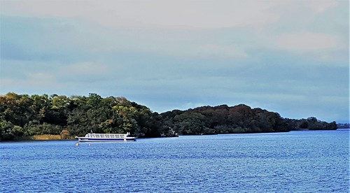 Ireland, Killarney, Ross Castle - Innisfallen Island