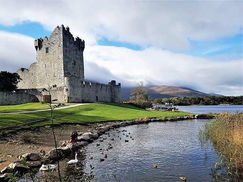 Ireland, Killarney, Ross Castle – the castle tower