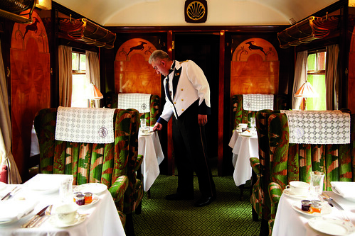Belmond Trains, close up