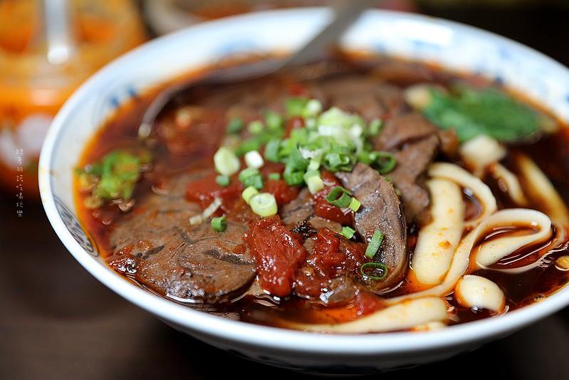 山西刀削番茄牛肉麵台北東區延吉街小吃美食16