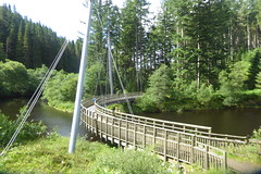Bridge over Kielder Water