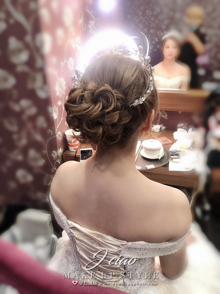 【新秘婕喬】bride資喻 宴客造型 / 韓式公主