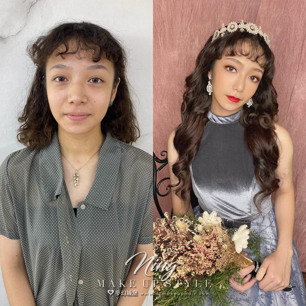 【新秘羽寧】新娘造型創作 / 短髮-輕復古捲髮