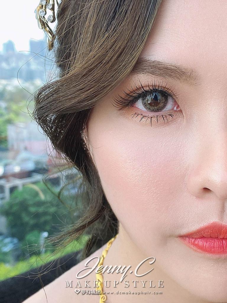 【新秘蓁妮】bride 郁萍 訂結婚造型 / 中式造型,華麗公主,韓系仙女