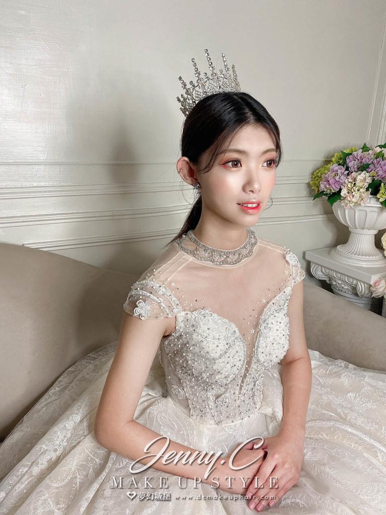 【新秘蓁妮】新娘造型創作 / 韓系小皇冠