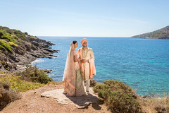 A blessed Sikh Wedding in Athens Riviera, Nick and Harpreet