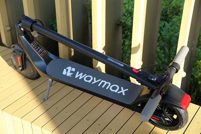 Waymax X7 尊雅電動滑板車開箱046