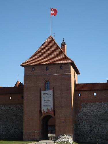 Trakų salos pilis, Trakai, Lithuania
