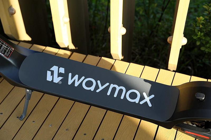 Waymax X7 尊雅電動滑板車開箱027