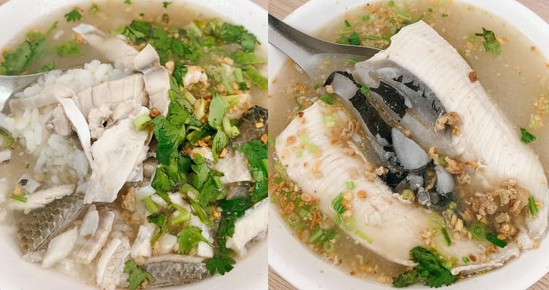 【台南美食】阿星鹹粥 開業55年的老店!老在地人的早午餐~ 虱目魚粥、魚肚粥必點!