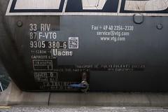 Sargans - Uacns Tank Car