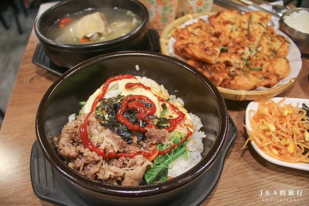 3種小菜吃到飽的百元平價韓式小吃,超人氣韓式料理主餐120元起就吃得到!道食樂韓式小吃 @J&A的旅行