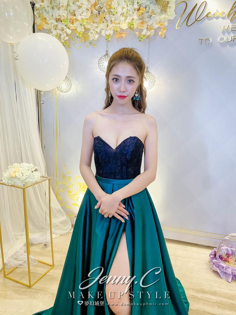 【新秘蓁妮】bride 沛綺 結婚造型 / 中式風,韓系公主,名媛風