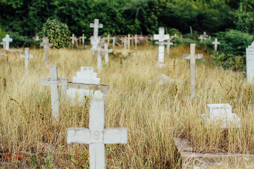 Cosses in Cemetery, Port Royal Jamaica