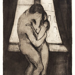 The Kiss (1895) by Edvard Munch. Original from The MET Museum. Digitally enhanced by rawpixel. thumbnail