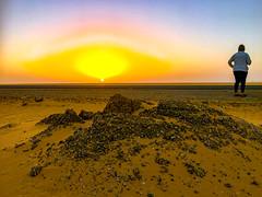 Desert sunrise, Luxor, Egypt, 埃及