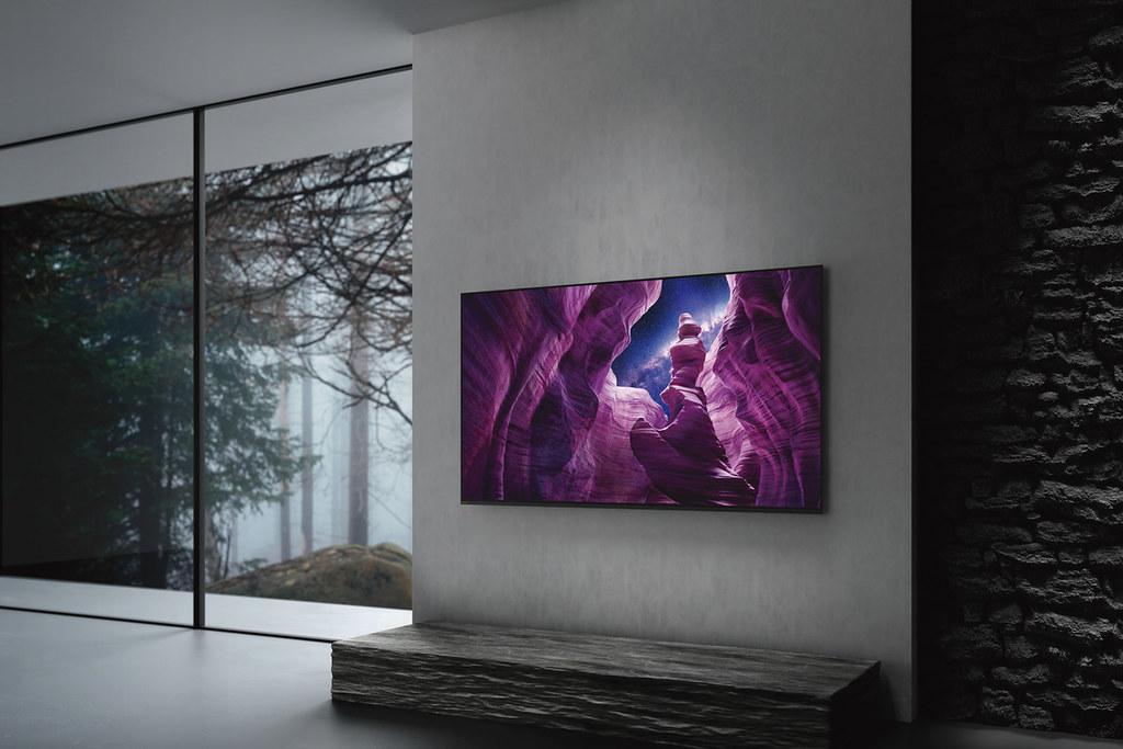 圖2) Sony BRAVIA 最新4K HDR OLED 電視A8H系列集結出色的獨家技術,實現影音合一的頂級居家娛樂體驗!