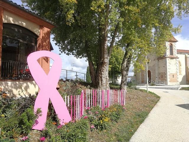 Photo 10 - La mairie toute de rose décorée