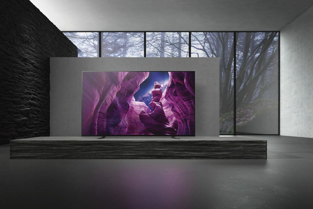 圖5) Sony BRAVIA 4K HDR OLED 電視A8H 系列講究最高等級的視聽細節與需求,為影音發燒友打造影院級的沉浸式感動!
