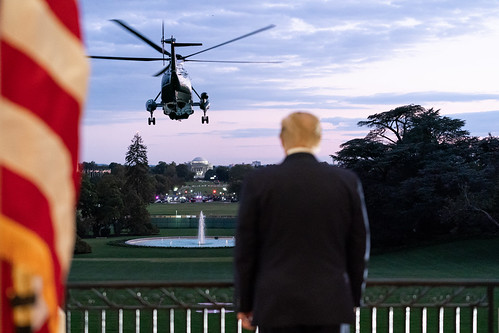 President Trump Returns to the White Hou by The White House, on Flickr