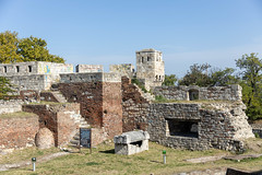 Historic Kalemegdan fort on the hill in the Belgrade