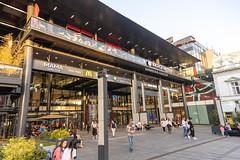 Rajiceva Shopping Center in the Belgrade Serbia