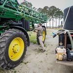 Farmer Archie Griffin in Washington, NC