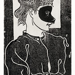 Masked woman (Gemaskerde vrouw) (c.1899) print in high resolution by Samuel Jessurun de Mesquita. Original from The Rijksmuseum. Digitally enhanced by rawpixel. thumbnail