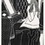 Woman at dressing table (Vrouw aan kaptafel) (c.1899) print in high resolution by Samuel Jessurun de Mesquita. Original from The Rijksmuseum. Digitally enhanced by rawpixel. thumbnail