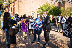 "Welcoming Doug Emhoff (Kamala Harris's husband) to Alexandria • <a style=""font-size:0.8em;"" href=""http://www.flickr.com/photos/117301827@N08/50440181222/"" target=""_blank"">View on Flickr</a>"