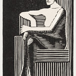 Seated nude figure in a geometric chair (Zittend naakt in geometrische zetel) (1920) print in high resolution by Samuel Jessurun de Mesquita. Original from The Rijksmuseum. Digitally enhanced by rawpixel. thumbnail